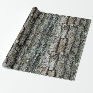 Papel De Presente Latido velho do pinho da natureza