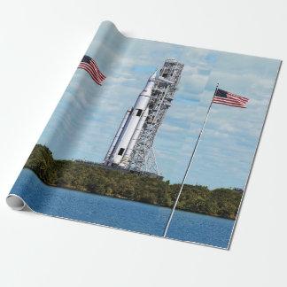 Papel De Presente Launchpad do sistema Rocket do lançamento do