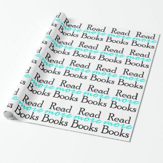 Papel De Presente Leia mais livros