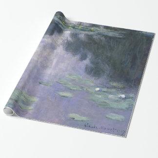 Papel De Presente Lírios de água Nymphéas 1907 de Claude Monet