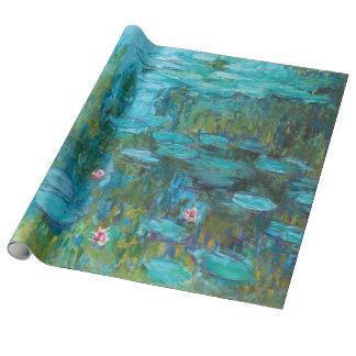 Papel De Presente Lírios de água Nymphéas de Claude Monet GalleryHD