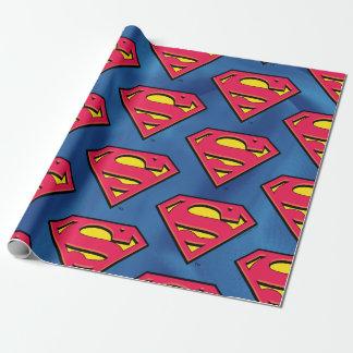Papel De Presente Logotipo clássico do superman   da história em