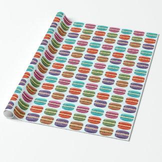 Papel De Presente Macarons colorido