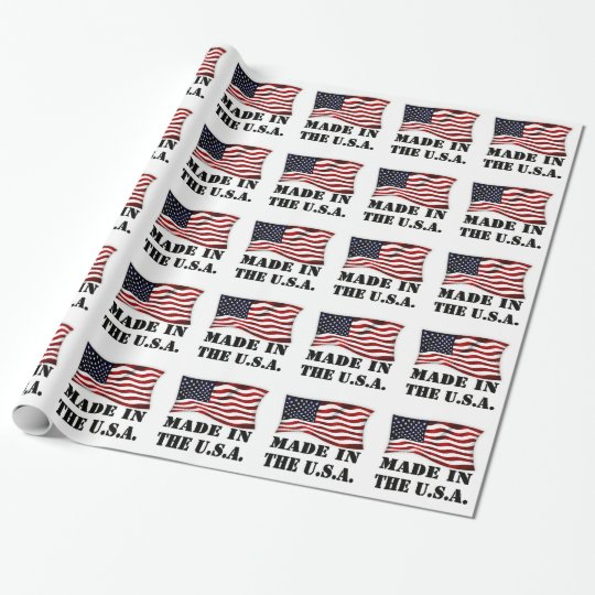 PAPEL DE PRESENTE MADE IN USA