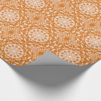 Papel De Presente Mandala do tarte de abóbora