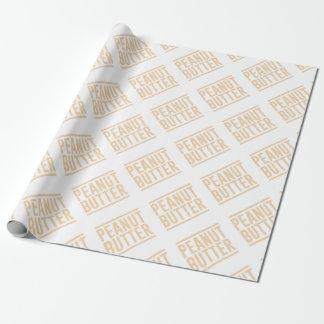 Papel De Presente Manteiga de amendoim