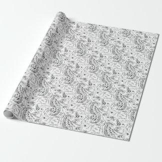 Papel De Presente Matéria têxtil indonésia dos vegetais e animal