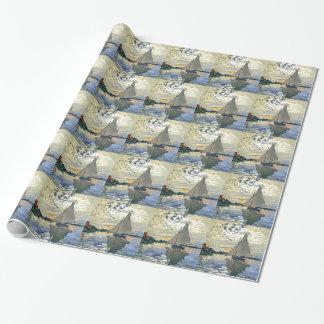 Papel De Presente Monet - veleiro em Le Pequeno-Gennevilliers