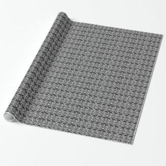 Papel De Presente Mosaico #1
