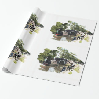 PAPEL DE PRESENTE NARROWBOATS