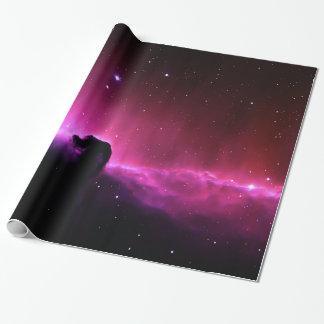 Papel De Presente NASA de Barnard 33 da nebulosa de Horsehead