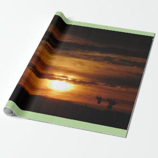 Papel De Presente Nascer do sol da manhã de Toronto