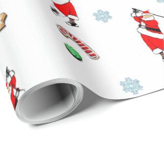 Papel De Presente Natal do golfe