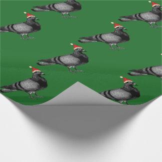 Papel De Presente Natal do pombo