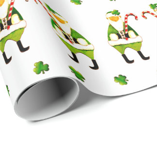 Papel De Presente Natal irlandês