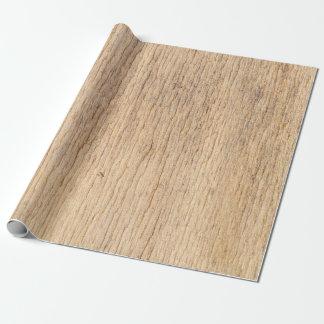 Papel De Presente Natureza de madeira da casa de campo do Natal