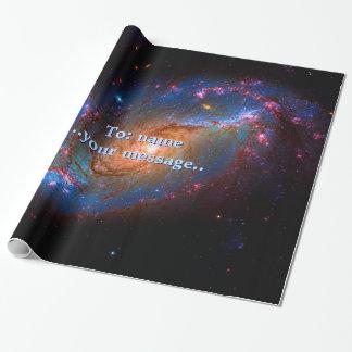 Papel De Presente Nome, galáxia espiral barrada NGC 1672