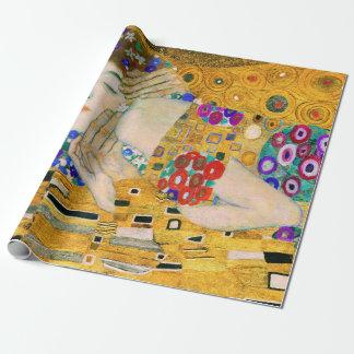 Papel De Presente O beijo por Gustavo Klimt