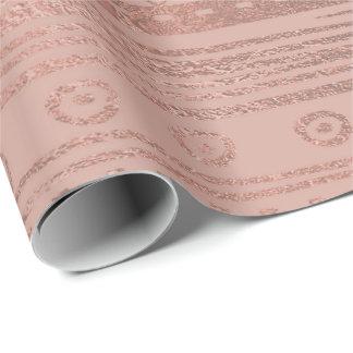 Papel De Presente O feijão vermelho do ouro cor-de-rosa magro cora
