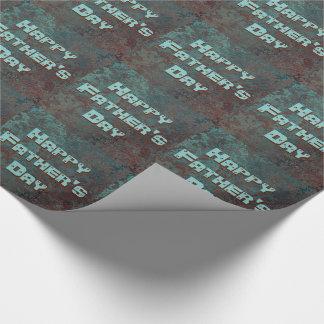 """Papel De Presente O impressão """"de cobre"""" da corrosão telhou o dia"""