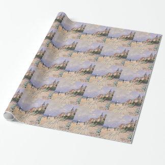 Papel De Presente O passeio à beira mar em Trouville Claude Monet