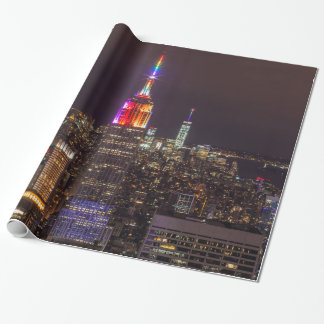Papel De Presente Orgulho do Empire State Building