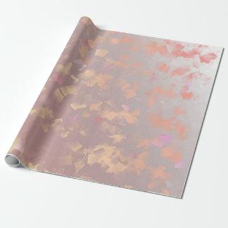 Papel De Presente Ouro, folha, folhas, teste padrão, moderno,