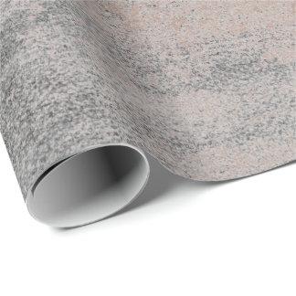 Papel De Presente Ouro industrial do rosa das cinzas do cimento da