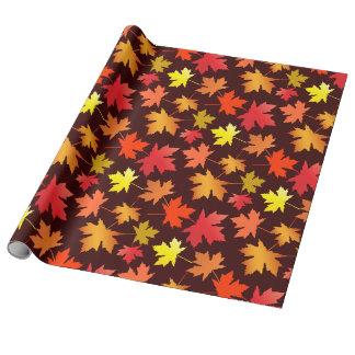 Papel De Presente Outono caído das folhas