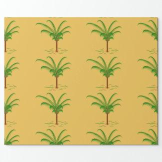 Papel De Presente Palmeira tropical