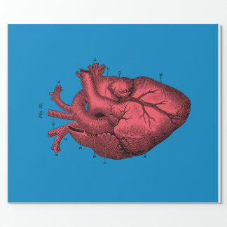 """Papel De Presente Papel de envolvimento anatômico do coração, 30"""" x"""