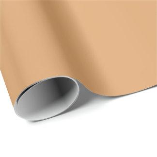 Papel De Presente Papel de envolvimento bronzeado metálico