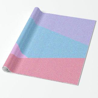Papel De Presente Papel de envolvimento colorido do design