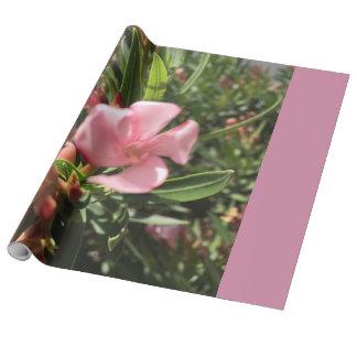 Papel De Presente Papel de envolvimento cor-de-rosa das flores