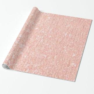 Papel De Presente Papel de envolvimento cor-de-rosa do ouro