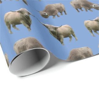 Papel De Presente Papel de envolvimento da agitação da vaca das