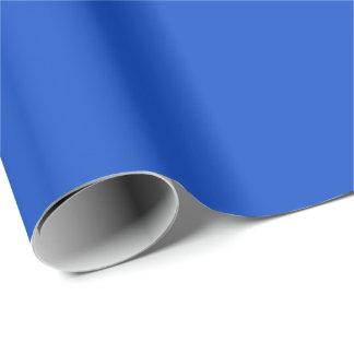 Papel De Presente Papel de envolvimento da cor sólida nos azuis
