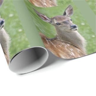 Papel De Presente Papel de envolvimento de Bambi