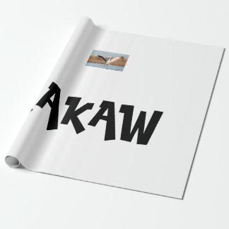 Papel De Presente Papel de envolvimento de KAKAW