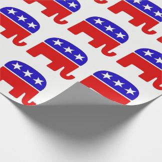 Papel De Presente Papel de envolvimento do Partido Republicano