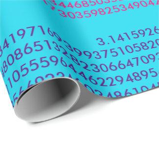 Papel De Presente Papel de envolvimento do Pi