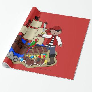 Papel De Presente Papel de envolvimento do pirata