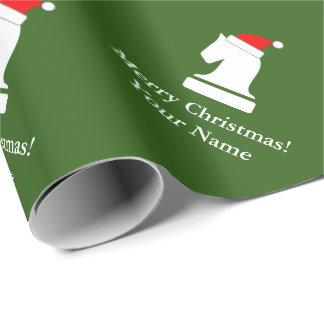 Papel De Presente Papel de envolvimento engraçado do Natal do teste