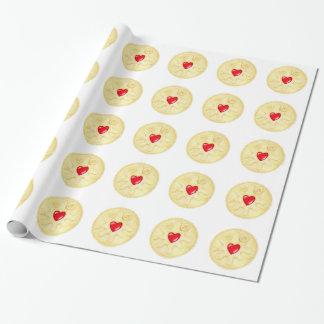 Papel De Presente Papel de envolvimento ilustrado de Dodger biscoito