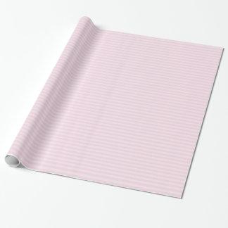 Papel De Presente Papel de envolvimento listrado cor-de-rosa