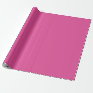 Papel De Presente Papel de envolvimento Matte cor-de-rosa da