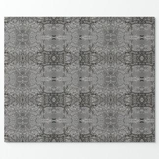Papel De Presente Papel lustroso de Wrappy do mosaico do sincelo