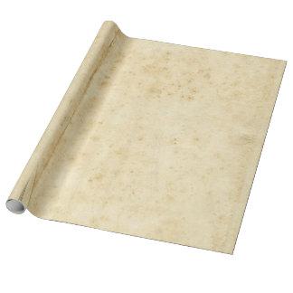 Papel De Presente Papel velho manchado rústico bonito do vazio da