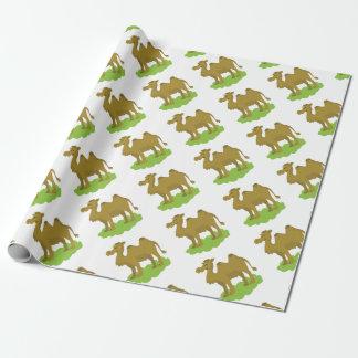 Papel De Presente passeio do camelo alto