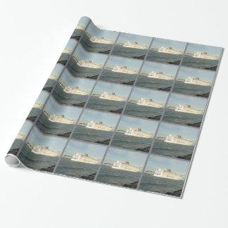Papel De Presente Perseguição épico - a gaivota segue o navio de